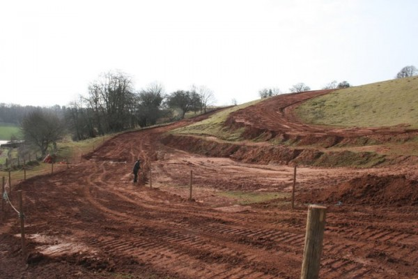 Bromsberrow Gloucester Motocross Track photo